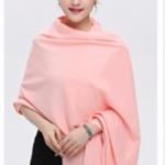 ผ้าพันคอ Pink Cashmere แคชเมียร์ สี ชมพู CM01014