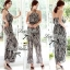 Black&White Chill Out Halter-neck Jumpsuit thumbnail 1