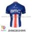 เสื้อจักรยานแขนสั้นทีม BMC 2015 สีน้ำเงินขาวแดง สั่งจอง (Pre-order) thumbnail 2