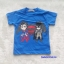 H&M : เสื้อยืด สกรีนลาย Batman&Superman สีน้ำเงิน size : 4-6y / 6-8y thumbnail 1
