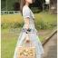 เดรสลายสก็อตปักลายดอกไม้สไตล์สาวคันทรี่ thumbnail 5