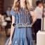 Dress งานสวยด้วยดีเทลงานปักลายสไตล์โบฮีเมียน thumbnail 2