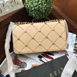 Charles & Keith Embellished Quilted Clutch