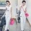 พร้อมส่ง เสื้อกล้ามทรงครอปสั้นพอดีเอว เสื้อผ้าเกาหลี thumbnail 4