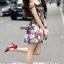 พร้อมส่ง เดรส Korea Style ลายผ้าสวย thumbnail 2